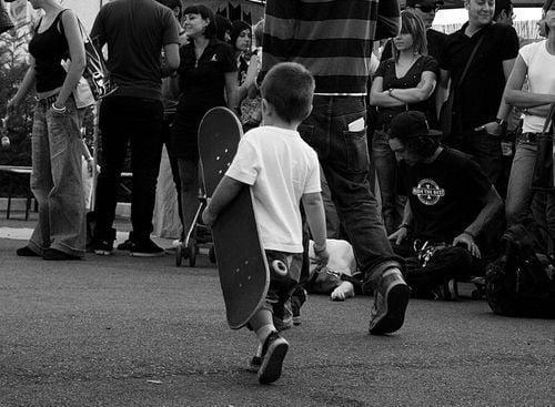 Skater kids love fashion too.