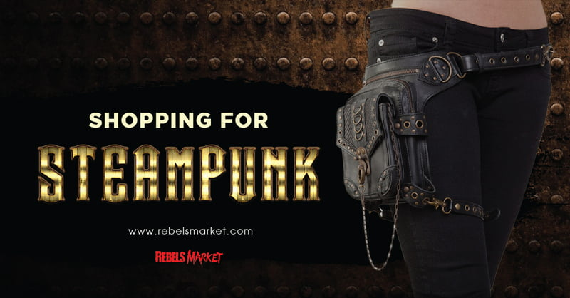 Buy Steampunk gifts cheap at RebelsMarket.