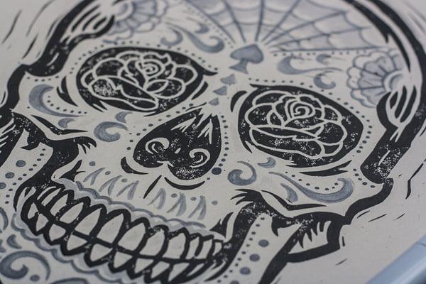 Sugar skull tattoos are increasingly popular