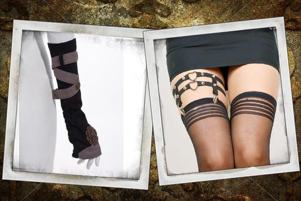 Buy Steampunk necklaces, steampunk gloves, steampunk fascinators, and steampunk garters at RebelsMarket.