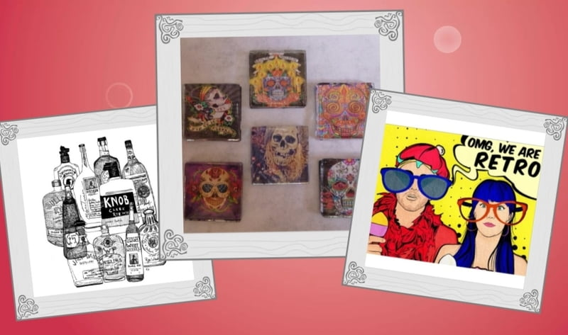 Artwork, especially personalized art, is also a great gift for the host you know well.