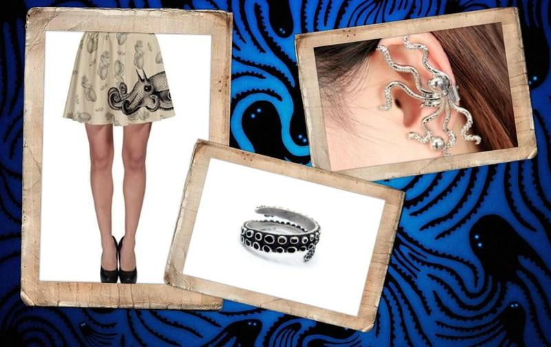Shop cool tentacle jewelry and clothing at RebelsMarket!