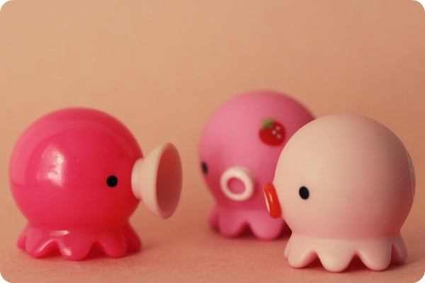 Things described as 'kawaii' tend to be small, brightly colored, and very character driven.