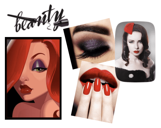 Take a cue from Jessica Rabbit and revamp your look for Valentine's Day!