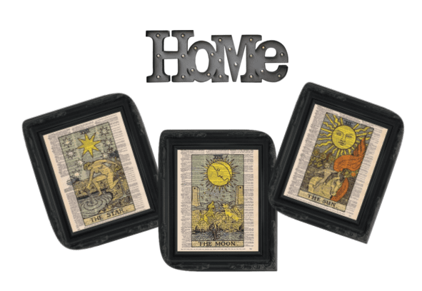Show your tarot card style in the comfort of your own home!