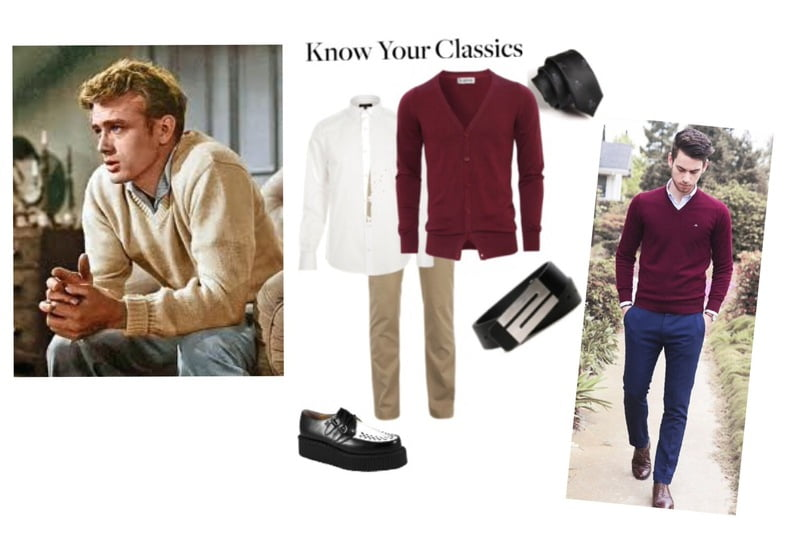 Steal the look of Classic James Dean!