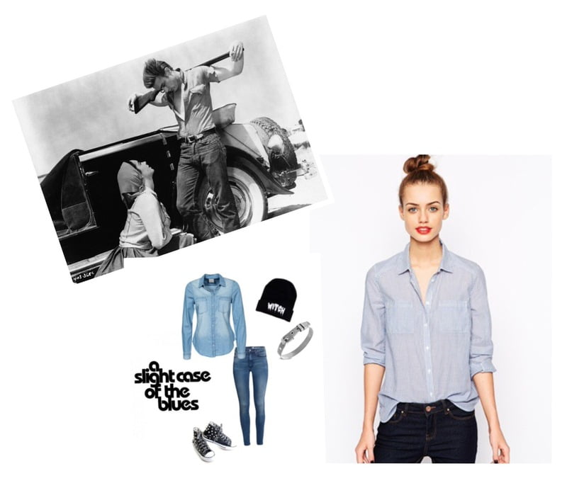 James Dean is an iconic trendsetter in androgynous fashion!