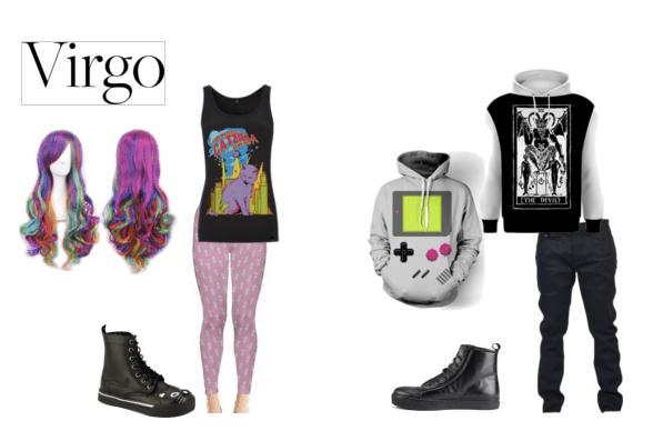 Goth fashion for the sci-fi stylish Virgo!