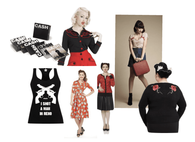 Daisy Duke style for the romantic rockabilly and pinup darling!