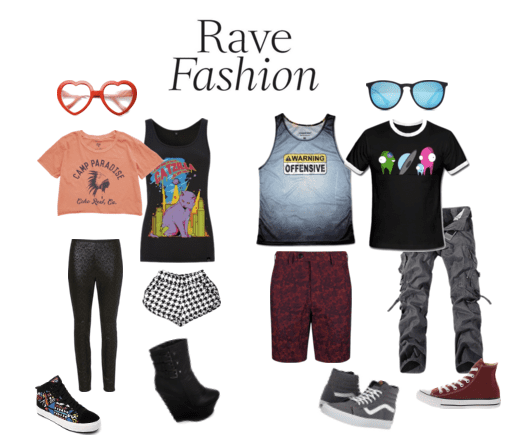 Graphic tees for an EDM concert is total comfort!