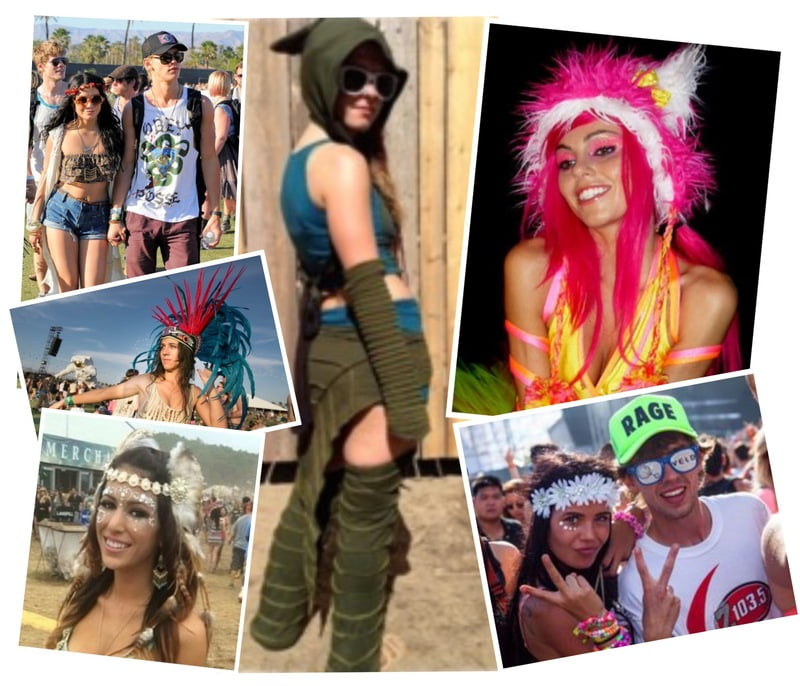 Rave on in fun headwear and headpieces!