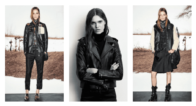 Black leather jackets are great staples to go with any outfit in your wardrobe.