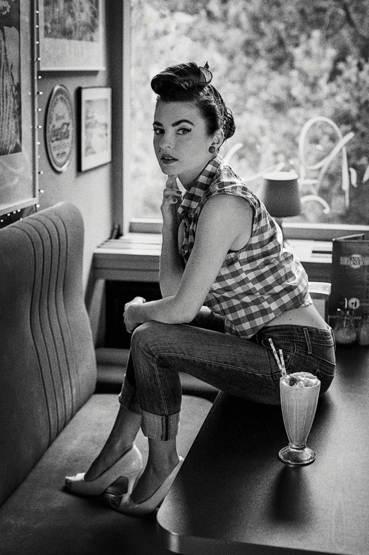 Rockabily Style: The greaser girl