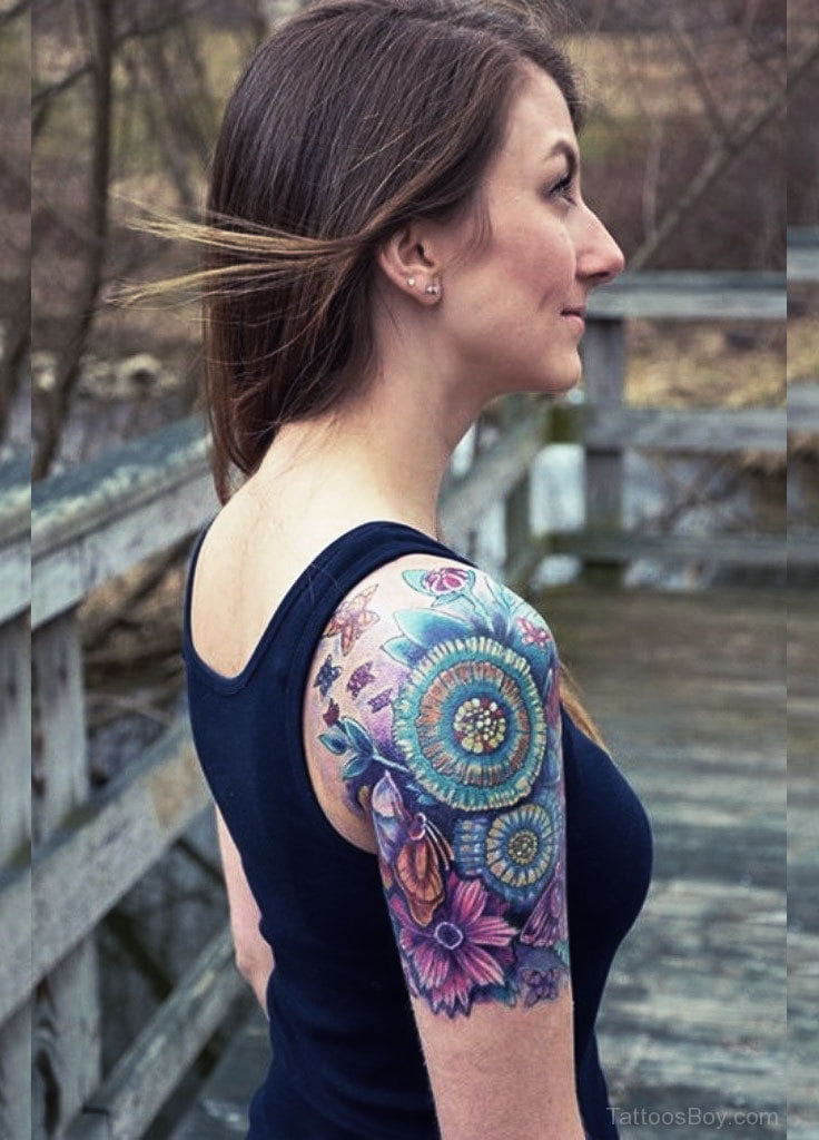 New sleeve tattoo? Tank tops are your best friend during the healing process.