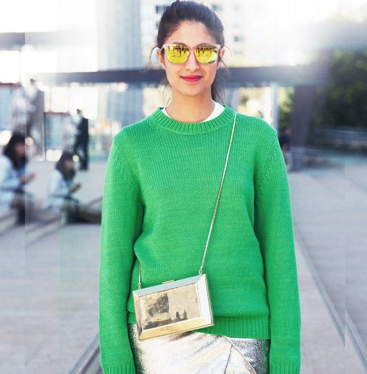 Enhance your street style with accents of your birthstone's color!