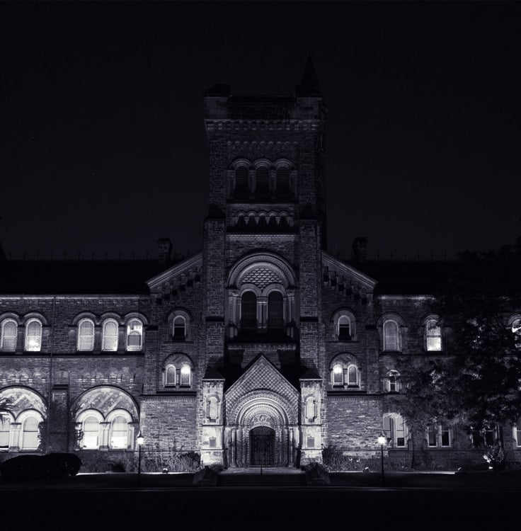 Creepy College - University of Toronto, Toronto, Canada is one of the most haunted schools in the world