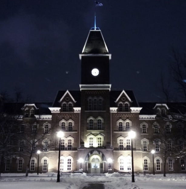 American Horror - Ohio University, Athens, Ohio is one of the most haunted schools in the world