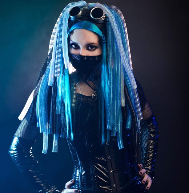 Cybergoth is one of the most notable alternative fashion trends of the past decade.