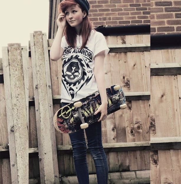 In the past decade, skate punk emerged as a major alternative fashion trend.