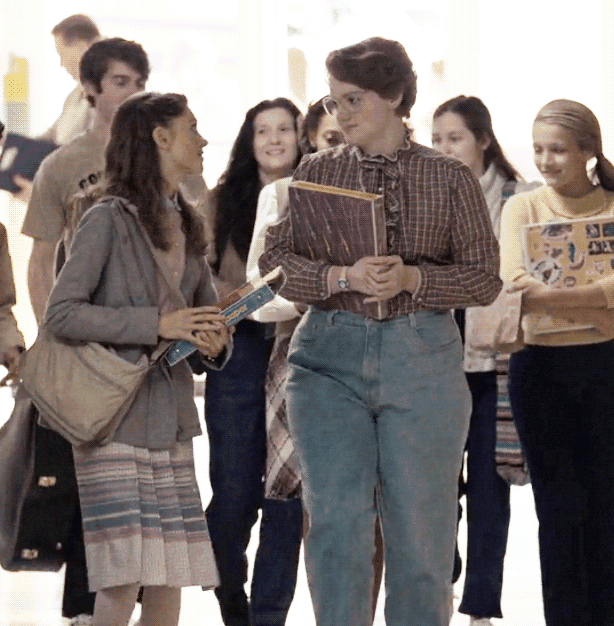 80s Retro Fashion - Learn how to dress like Barb from Stranger Things.