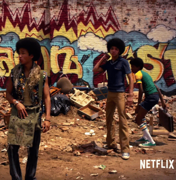 Graffiti, Music, and Style - Experience the retro artistic expressions of The Get Down on Netflix.