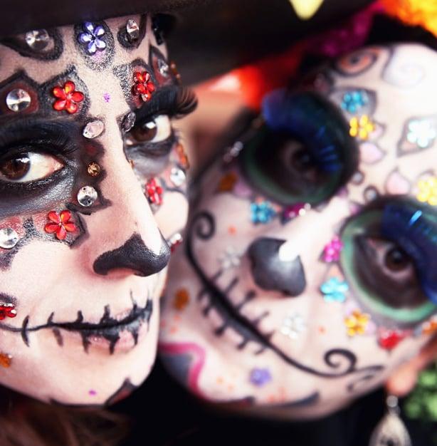 Creative Costume Idea: Sugar Skulls