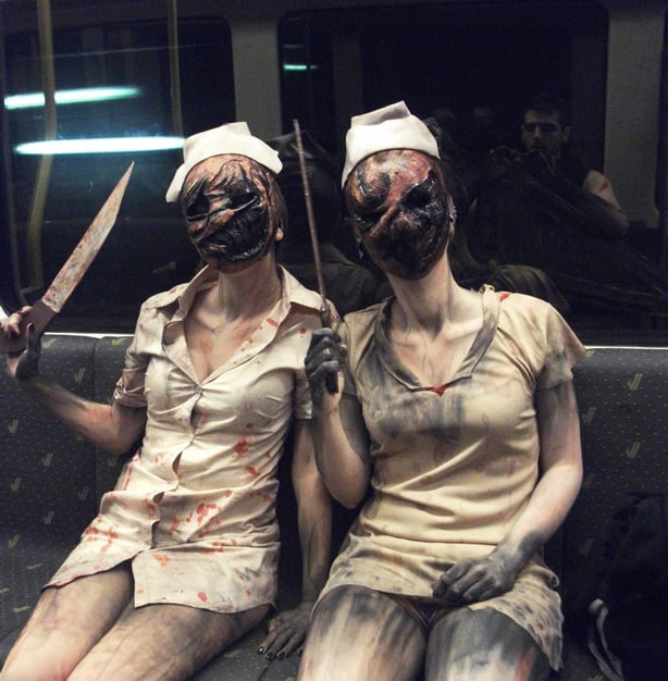 Scary DIY Halloween Costume Idea - Silent Hill Nurse