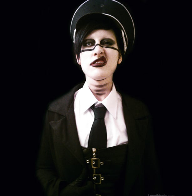 Fun DIY Halloween Costume Idea - Marilyn Manson