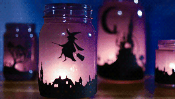 DIY Halloween Decor - Halloween Lanterns