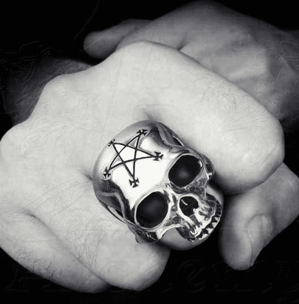 Goth Style Must Haves - Pewter Rings