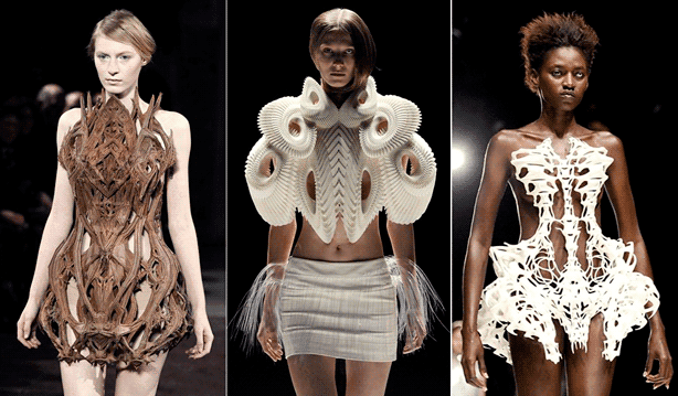 3D Fashion on the runway