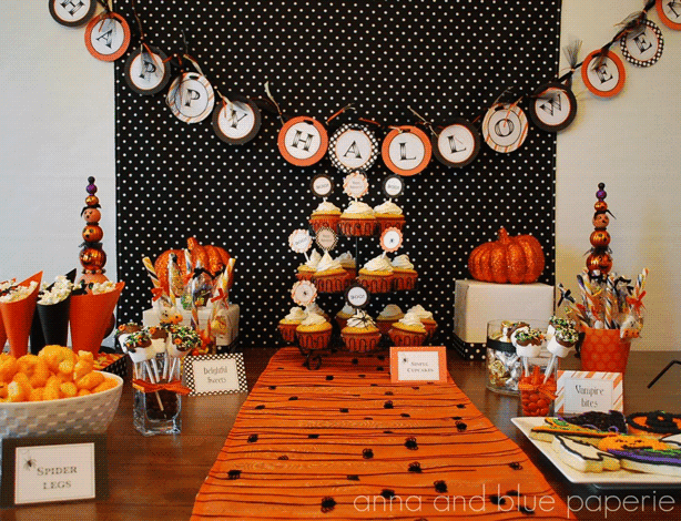 Food ideas for the ultimate Halloween party