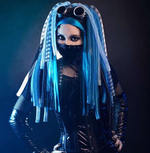 Love the look of Cyber Goth? Get the style with these tips -