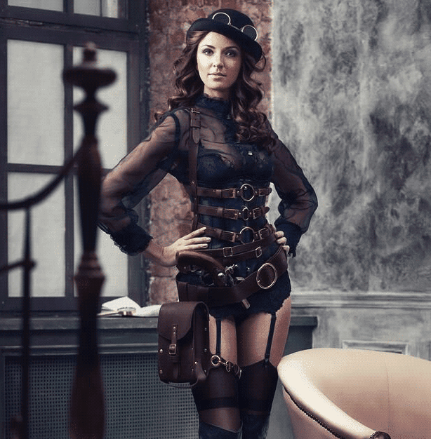 Want to dress for the Gothic side of Steampunk? Follow these tips -