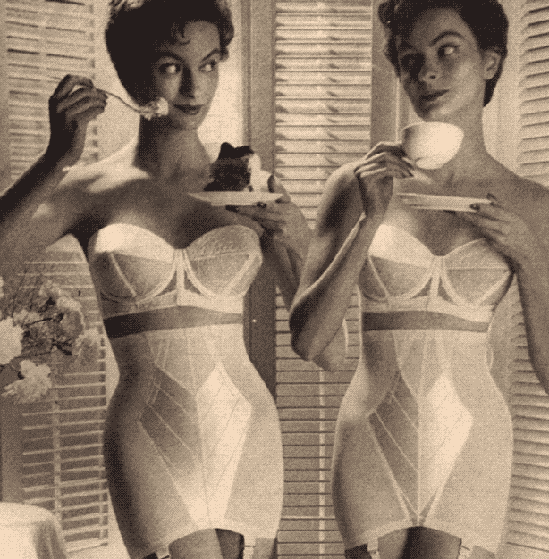 The Evolution of Corset Fashion - 1950s Era