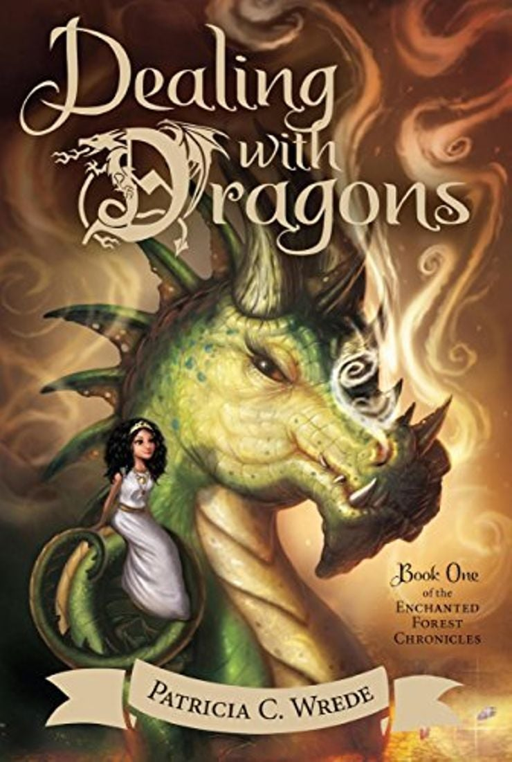Dealing with dragons - fantasy book for summer reading