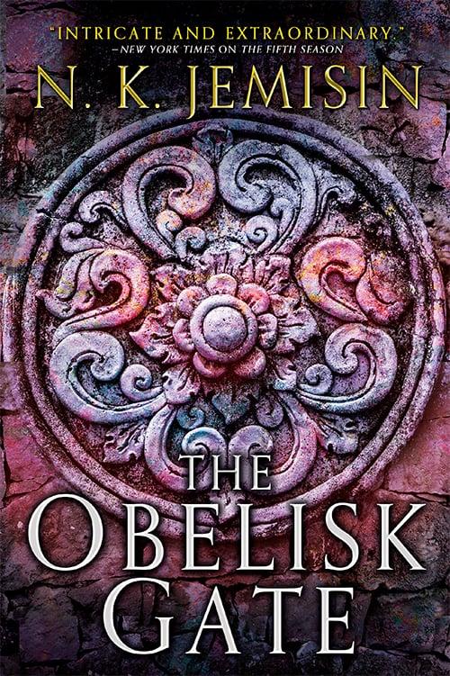 The obelisk gate fantasy book cover