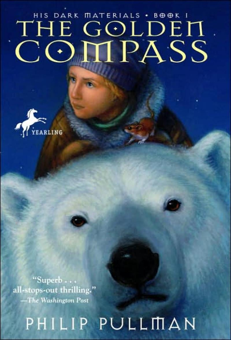 The golden compass book cover art