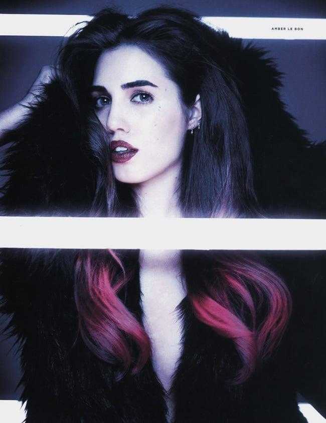 Famous musician's daughter Amber Le Bon