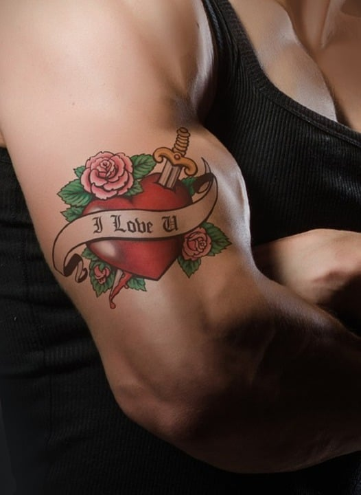 Things To Know Before Your First Tattoo Sesh: Classic Bicep Tattoo