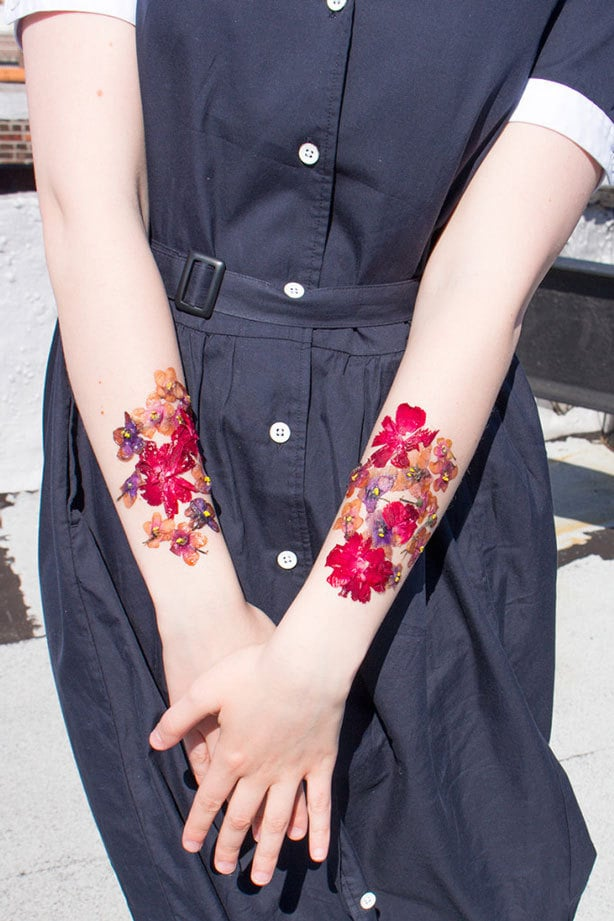 Things To Know Before Your First Tattoo Sesh: Floral Forearms Tattoos