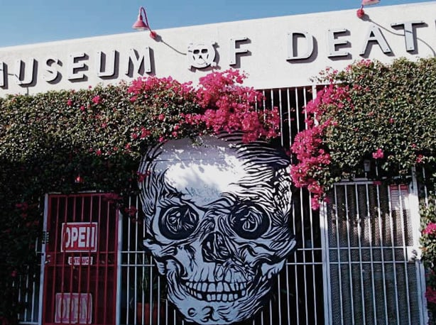 13 Weirdest Places to Visit in the US: Museum of Death, LA
