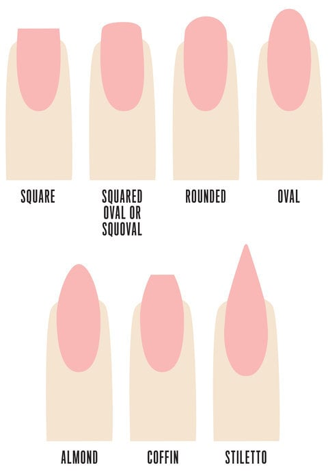Your Guide to Acrylic Nails: Different Nail Extension Shapes