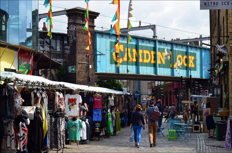 7 Coolest Alternative Street Markets In The World: Camden Market