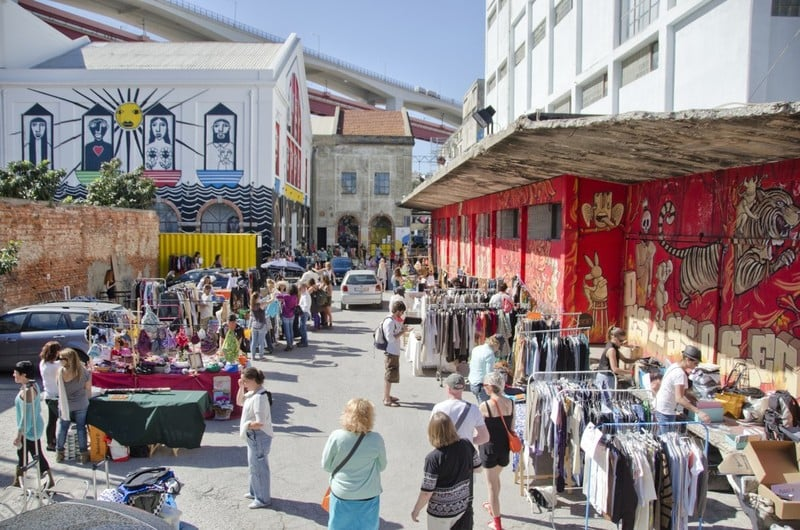 7 Coolest Alternative Street Markets In The World: LX Factory