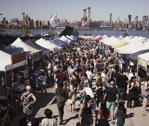 Best Fall Food Festivals Across America: Smorgasburg, Brooklyn
