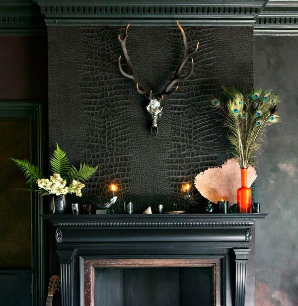 Animal Skulls and Dark Interiors are Perfect For Creating an Edgy Home Decor Style