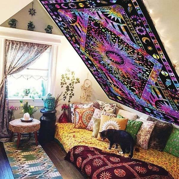 Wall tapestries are a great way to transform your home decor