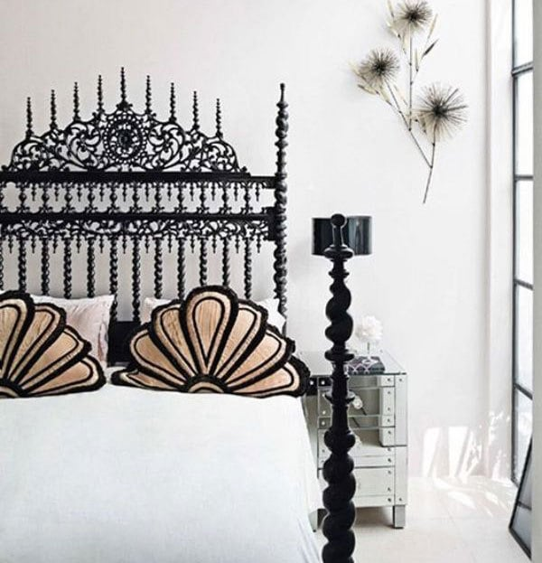 Gothic throw pillows are an inexpensive option for updating your home this fall