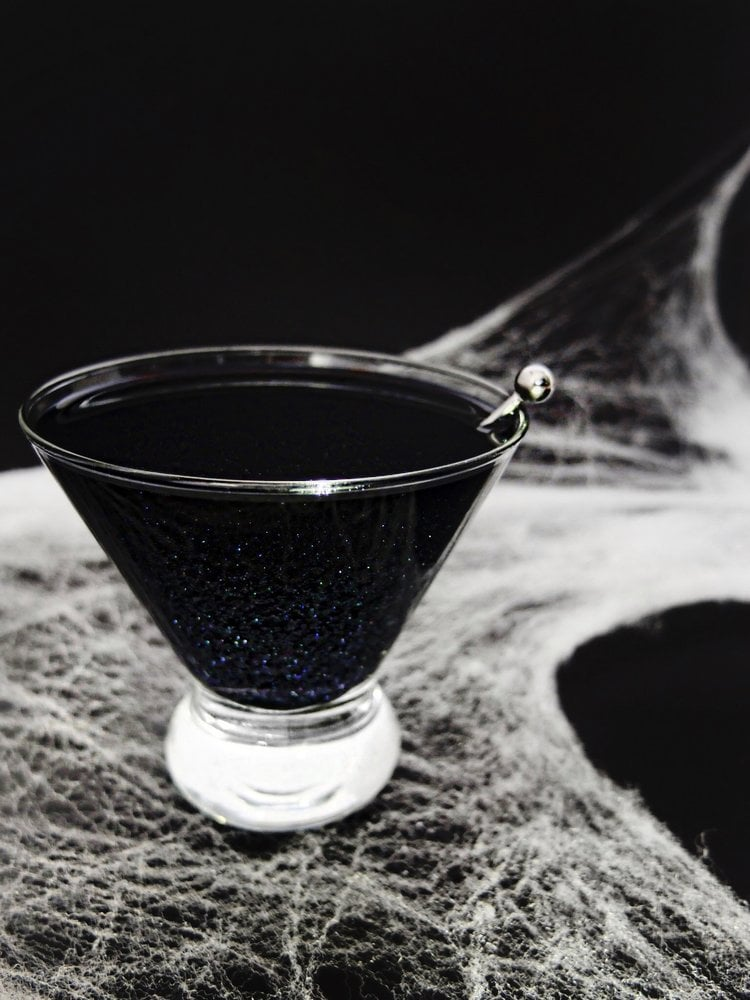 Gothic and Stylish Halloween Cocktail: Black Magic